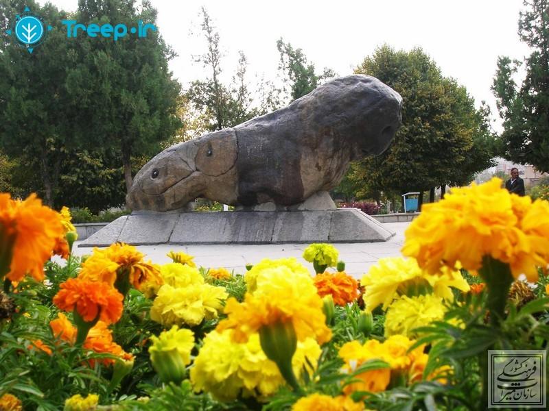 مجسمه-شیر-سنگی_5