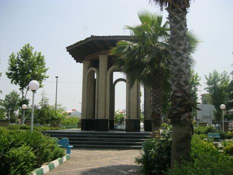 آرامگاه-استاد-محمد-معین_1